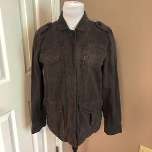 J. Crew l Classic Twill Button Jacket